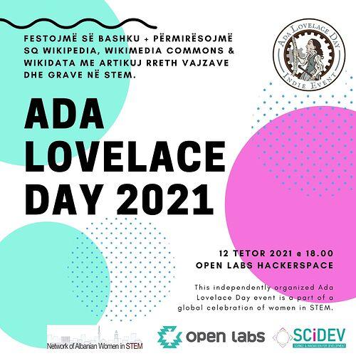 AdaLovelaceDay_2021 Tirana