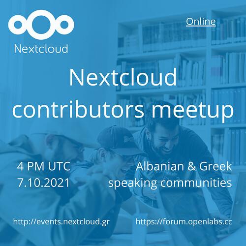 Nextcloud meetup